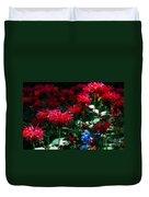 Botanic Garden Abstract Duvet Cover