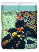Botanical Klimt Duvet Cover