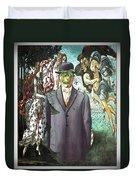 Botticelli Son-of-man 1  Duvet Cover