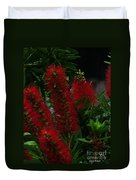 Bottle Brush Duvet Cover