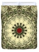 Bottle Brush Kaleidoscope Duvet Cover