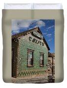 Bottle House Calico California Duvet Cover