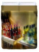 Bottle Of Wine Duvet Cover