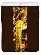 Bottle Of Wine  Duvet Cover by Mark Moore