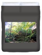 Bottom Of Devil's Punchbowl Wildcat Den Duvet Cover