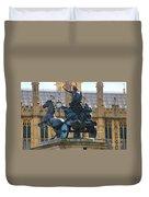Boudicca Statue And Parliament 5805 Duvet Cover