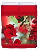 Bougainvillea Beauty Duvet Cover