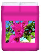 Bougainvillea Beauty Duvet Cover