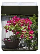 Bougainvillea Bonsai Tree Duvet Cover