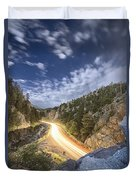 Boulder Canyon Dream Duvet Cover