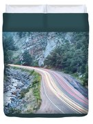 Boulder Canyon Drive And Commute Duvet Cover