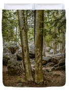 Boulder Woods Duvet Cover