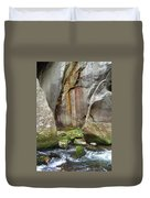 Boulders By The River 2 Duvet Cover