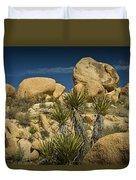 Boulders In The Joshua Tree National Park Duvet Cover