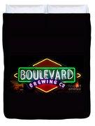 Boulevard Brewing Duvet Cover