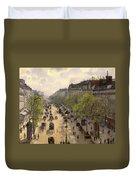Boulevard Montmarte Duvet Cover