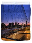 Bound For Greatness Duvet Cover by Evelina Kremsdorf