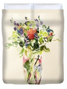 Bouquet  Duvet Cover by Julie Held