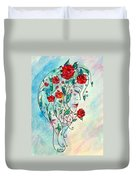 Bouquet Of Love Duvet Cover