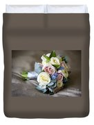 Bouquet Of Spring Flowers Duvet Cover