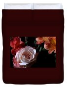 Bouquet With Rose Duvet Cover