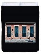 Bourbon Street Doors Duvet Cover