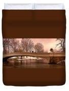 Bow Bridge Panorama Duvet Cover