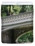 Bow Bridge Texture - Nyc Duvet Cover