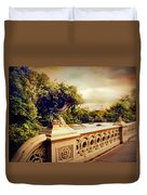 Bow Bridge View Duvet Cover