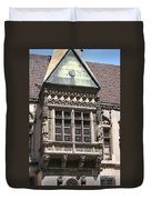 Bowfront City Hall Wroclaw Duvet Cover