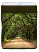 Bowing Oak Trees Duvet Cover