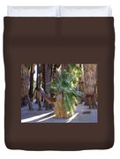 Bowing Palm Duvet Cover