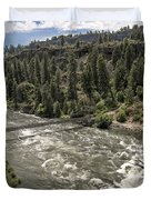 Bowl And Pitcher Area - Riverside State Park - Spokane Washington Duvet Cover