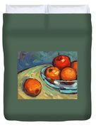 Bowl Of Fruit 2 Duvet Cover