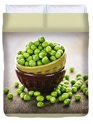 Bowl Of Peas Duvet Cover