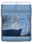 Bow's Shadow  Duvet Cover by Christine Burdine