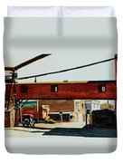 Box Factory Duvet Cover by Edward Hopper