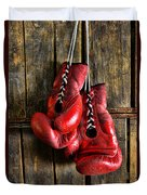 Boxing Gloves - Now Retired Duvet Cover