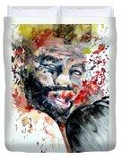 Boxing II Duvet Cover