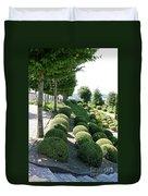 Boxwood Garden Globes Duvet Cover