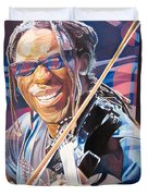 Boyd Tinsley And 2007 Lights Duvet Cover
