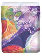 Boyd Tinsley And Circles Duvet Cover