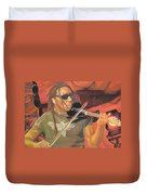 Boyd Tinsley At Red Rocks Duvet Cover