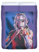 Boyd Tinsley Colorful Full Band Series Duvet Cover