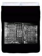 Boyne Falls Jail Duvet Cover