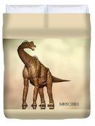Brachiosaurus Dinosaur Duvet Cover