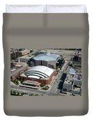 Bradley Center And Us Cellular Arena Duvet Cover