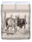 Brahman Bull Duvet Cover