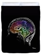 Brain And Mind Duvet Cover