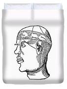 Brain Diagram, 1503 Duvet Cover